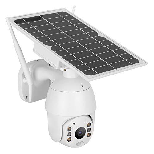 Cámara PTZ Alerta de grabación de detección de Movimiento PIR Grabación de Seguimiento de Carga Solar para Sistema de(European Frequency Band)
