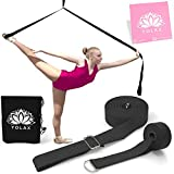 YOLAX Leg Stretcher Band on door | 100% SAFE, Proven Results | Also Perfect as, Yoga Strap, Gymnastic equipment, Stretching equipment, Flexibility Trainer, Door Stretcher, Yoga belt