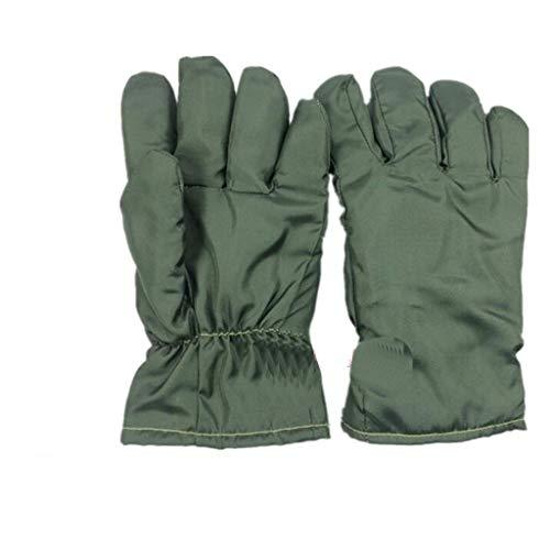 ZFZ Handschuh, Handschuhe, Handschuh, 300 Grad-Hochtemperatur-Handschuhe Insulated Anti-Statik-Handschuhe Reinraum Spezielle staubfreie Handschuhe, Keine Späne 26 / 40cm, White26cm,Green26cm