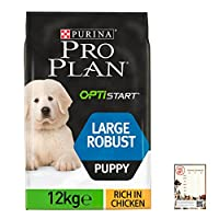 Suitable for all large breed puppies as a complete and balanced diet to support their growth into adulthood The main ingredient is chicken (17%), a good protein-packed ingredient much better than most diets that use cereal as the main ingredient To s...