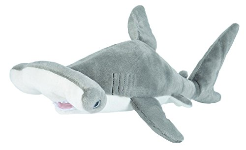 Wild Republic Hammerhead Shark Plush, Stuffed Animal, Plush Toy, Gifts for Kids, Cuddlekins 20', Multi