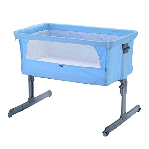 Why Choose Tyui Side Sleeping Crib Baby Side Sleeping Crib Function Thick Aluminum Height Adjustable...