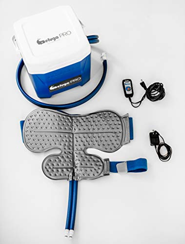 BelugaPRO Arctic Flow Therapy System with Shoulder Wrap | Ice Water Circulating Cold Therapy Machine for Shoulder
