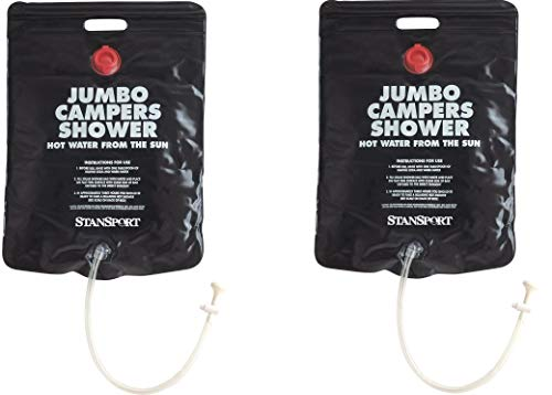 Find Discount Stansport Jumbo Camp Shower, 5 Gallons, Multicolor, One Size, Model: 298 (Pack of 2)