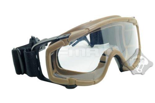 FMA Paintball Softair Schutzbrille SI-Ballistic-Goggle Desert für Helm