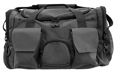 RiptGear Large Gym Bag - Extremely Durable, Waterproof, Dual Shoe Compartment
