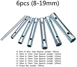 EsportsMJJ 6Pcs 8-19Mm/10Pcs 6-22Mm Métrica Tubular De La Caja De