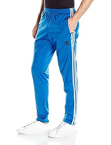 adidas Originals Men's Bottoms Open Hem Track Pants, Equipment Blue, X-Small