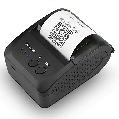 Best Review Of RTYUIE Office Products Portable 58mm Bluetooth Thermal Receipt Printer, Support Charg...