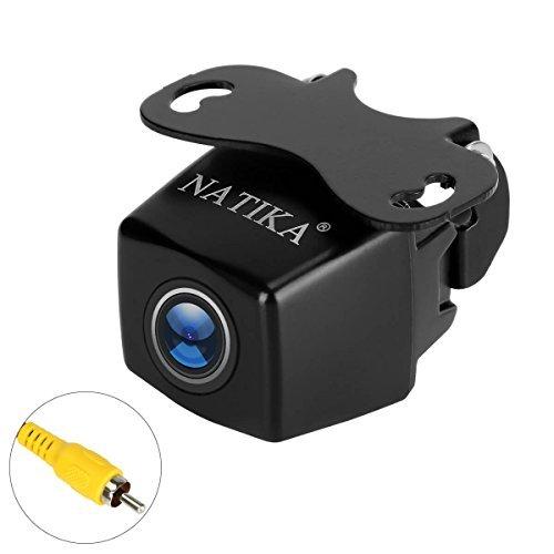 NATIKA Backup Camera with Waterproof HD Night Vision Rear View Camera and 170 Degree Super Wide Angle Reverse Camera for Cars Jeep SUV RV Van MPV Trucks Micro Bus etc