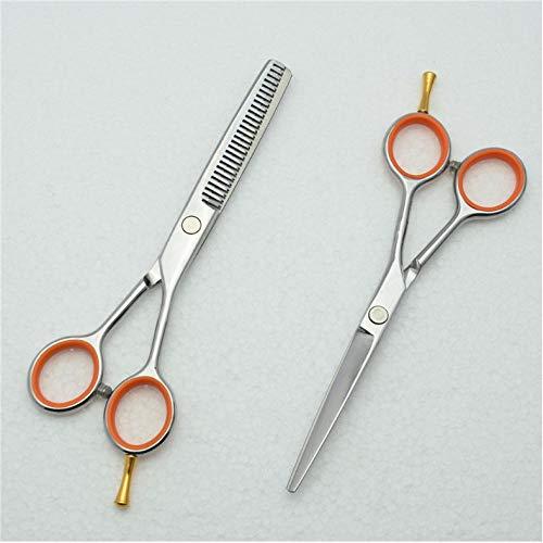 yologg 5.5 `` 14 cm Logo personnalisé JP 440C Ciseaux de cheveux humains professionnels Ciseaux de coiffure Ciseaux de coupe Ciseaux à effiler C1017