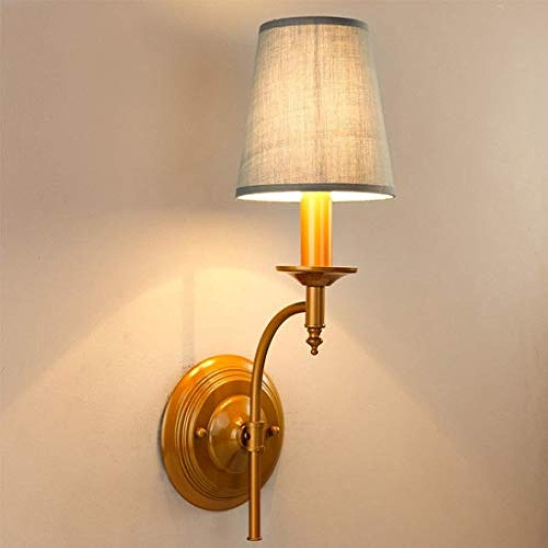 Antike Wandleuchte kreative Persnlichkeit Bett Schlafzimmer Treppenhaus Flur Wand Lampe Mode (Farbe  A)