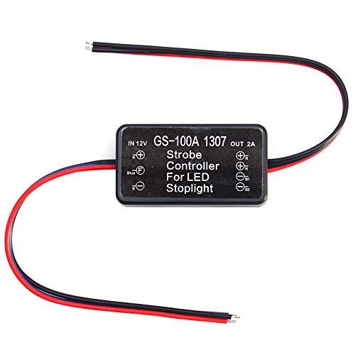 LED Strobe Controller, Fydun GS-100A 1307 Auto LED Bremslicht Strobe Flash Modul Controller AP Kfz Ersatzblinker