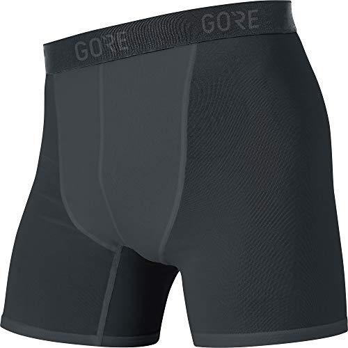 GORE WEAR Herren M Base Layer Boxer Shorts, Black, L EU