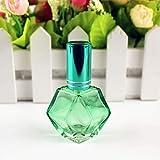 XKMY 1 botella de spray de vidrio de 10 ml, botella de perfume de vidrio...