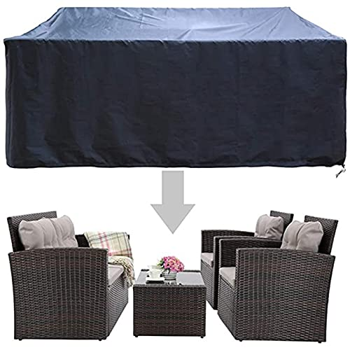 CHLDDHC Outdoor Patio Garden Furniture Waterproof Covers Rain Snow Chair Covers Sofa Table Chair Dustproof Cover