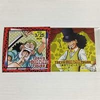 東京ワンピースタワー 4th アニバーサリー ステッカー 3/25 ウソップ 4周年 3月25日 麦わらストア 365日ステッカー 非売品 特典