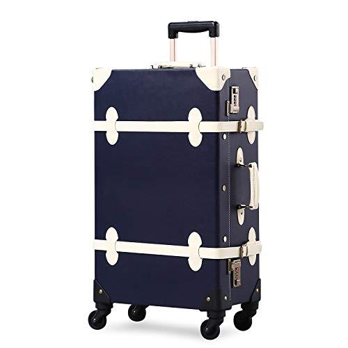 GSAGJlgx Premium Vintage Luggage Sets 24'Trolley-Kofferset mit TSA-Schlössern (Size : 26inch)
