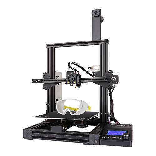 ANYCUBIC 3D Drucker Mega Zero 2.0 mit Heißem Bett, Schnellem Erhitzen, Update-Version Auxiliary Leveling FDM-Drucker mit Magnetdruckbett ,Unterstützung PLA /TPU /Holz /PETG, Druckgröße 220x220x250mm
