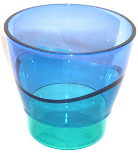 1a TUPPER Trinkbecher ELEGANZIA Becher Schüssel Schale 290 ml - blau türkis