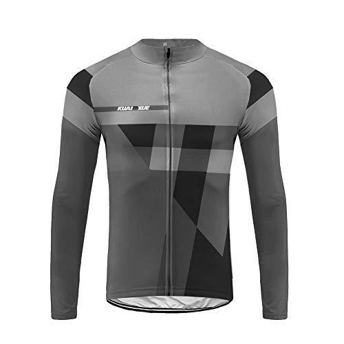 Uglyfrog MTB Racing Fleece Cold Wear Maillot Bicicleta Hombre Manga Larga MTB,Maillot Ciclismo Hombre Invierno