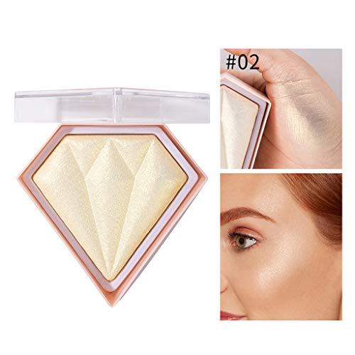 S-TROUBLE 5 Couleur Highlight Poudre Maquillage du Visage Palette De Paillettes Glow Visage Contour Shimmer Éclairez Le Peau Illuminateur Cosmétique