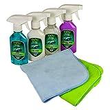 Ava Carnauba Nano Car Cleaner Kit Detailing Wax Waterless Cleaning Set