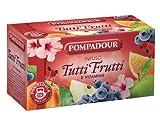 Pompadour 1913 Infusión de todas las frutas y vitaminas sin cafeína - 1 x 20 bolsitas de té (60 gramos)