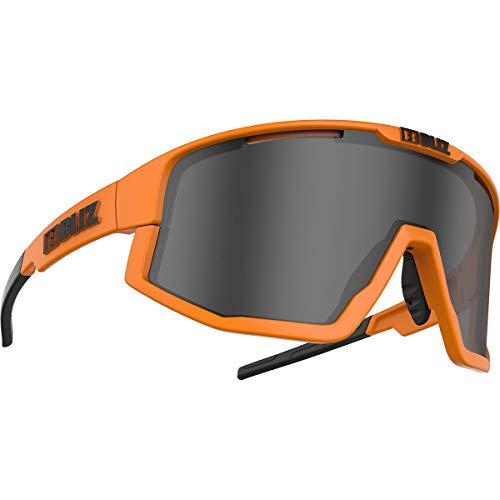 Bliz Fusion Sportbrille, matt neon orange-Smoke
