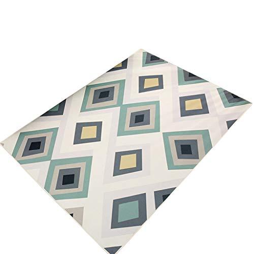 Modieus minimalistisch tapijt in Nordic kan in de woonkamer worden gebruikt in de slaapkamer, leuke kamer, nachtkastje, thee, tafel, tapijt, thuiskantoor, tapijt, absorberend, antislip, multi-size Mul