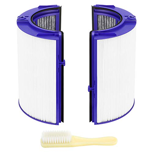 isinlive HEPA Filter Replacement Compatible for Dyson TP06 HP06 PH01 PH02 Air Purifier True HEPA+Carbon Filter Set(2 in 1) for Dyson Pure Cool Hot Air Purifier, Compare to Part # 970341-01