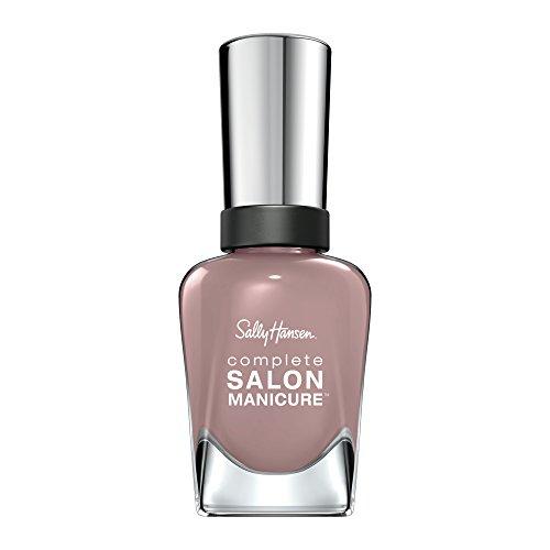 Sally Hansen Complete Salon Manicure Nagellack mit Keratinkomplex Mauve Along, Altrosa, glänzender...