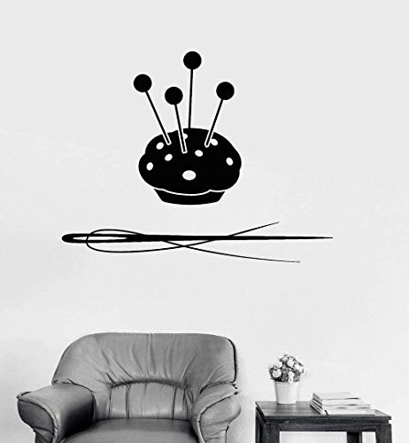 Wall Sticker Decal Sewing Tailor Shop Atelier Tools Mural Modern Ornament Removable Decals 73 * 57Cm