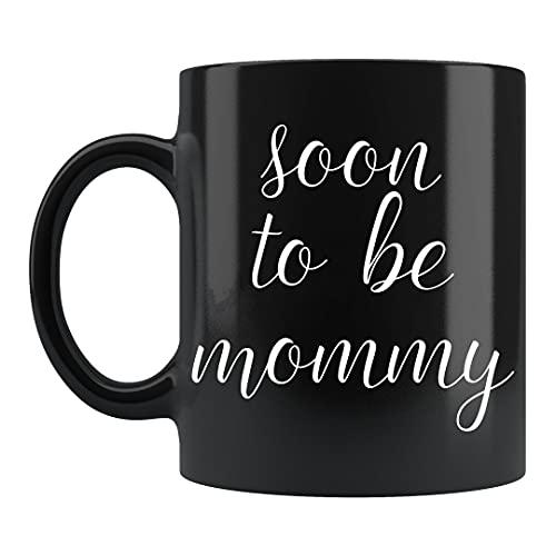 Soon to Be Mommy - Taza con texto en inglés 'Soon to Be Mommy', 'Future Mommy', 'Future Mommy', 'Future Mommy', 'Future Mommy', 'Future Mommy', 'Future Mommy', 'Future Mommy', 'Future Mommy