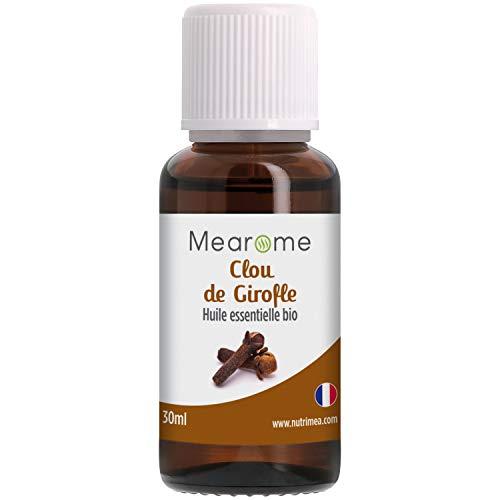 Huile Essentielle de CLOU DE GIROFLE BIO - Eugenia Caryophyllus - Distillée en FRANCE -...