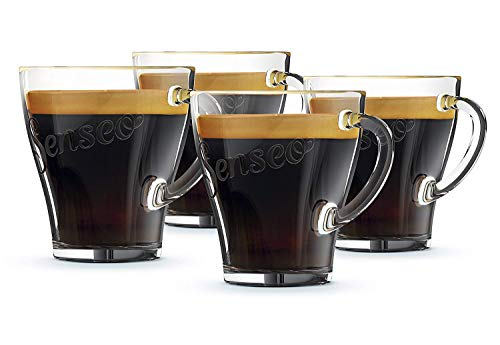 Philips CA6511/00 Senseo Set de 4 Tasses Verre 7 x 10 x...