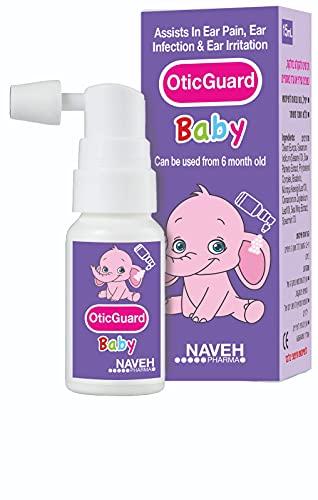 Otic Guard Natural Herbal-Oil Blend Spray –for Ear...