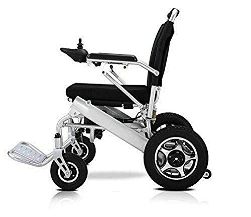 Electric Wheelchair for Adults, Lightweight Foldable Heavy Duty Power Wheel Chair for Travel, Motorized Power Chair, Only 59Lbs Approved