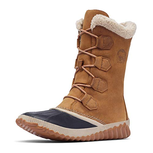 Sorel out N About Plus Tall, Botas Impermeables para Mujer, Marrón (Elk), 38 EU
