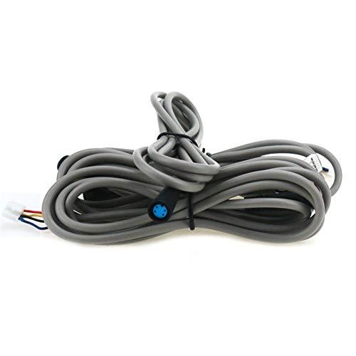 Equipo Deportivo LGMIN 2 PCS Controlador de Enchufe del Cable de Enchufe del Cable del Controlador para Xiaomi MIJIA M365 Scooter eléctrico, Longitud del Cable: 1.2m (Gris)