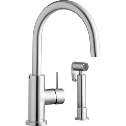 Big Sale Best Cheap Deals Elkay LK7922SSS Allure Stainless Kitchen Faucet, Satin Stainless Steel
