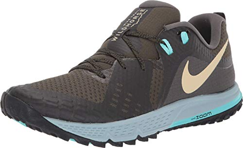 NIKE-AQ2222-303-10-AIR Zoom Wildhorse 5 (10.5 D US) Kaki