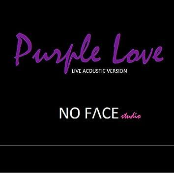 Purple Love (live acoustic version at NO FACE studio)