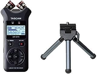 TASCAM タスカム - USB オーディオインターフェース搭載 ステレオ リニアPCMレコーダー DR-07X + ミニ三脚 セット