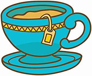 Bhai Please Tea Cup Wooden Fridge Magnet