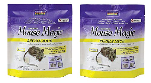 Bonide Mouse Magic Pest Repellent, 866, Sold as 2 Pack, 24 Count Total