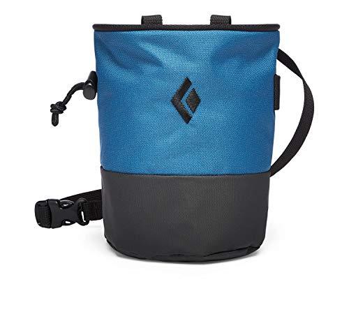 Black Diamond Mojo Zip Chalk Bag - Astral Blue/Slate Small/Medium