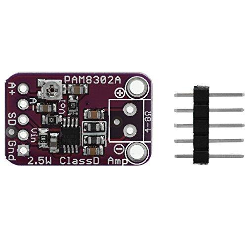 EBS Cjmcu-832 Pam8302 Módulo de Amplificador de Potencia de Audio Clase D de 2.5W