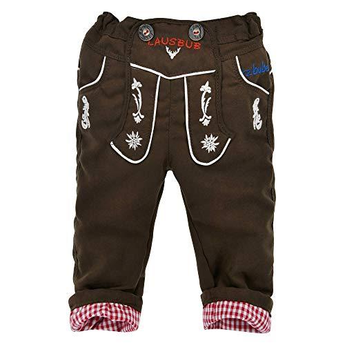 BONDI Jungen Trachtenhose Lederhose Look (86)