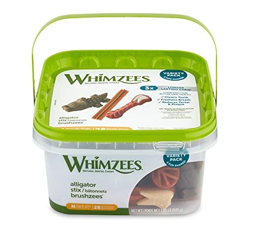 WHIMZEES Natural Grain Free Daily Long Lasting Dog...